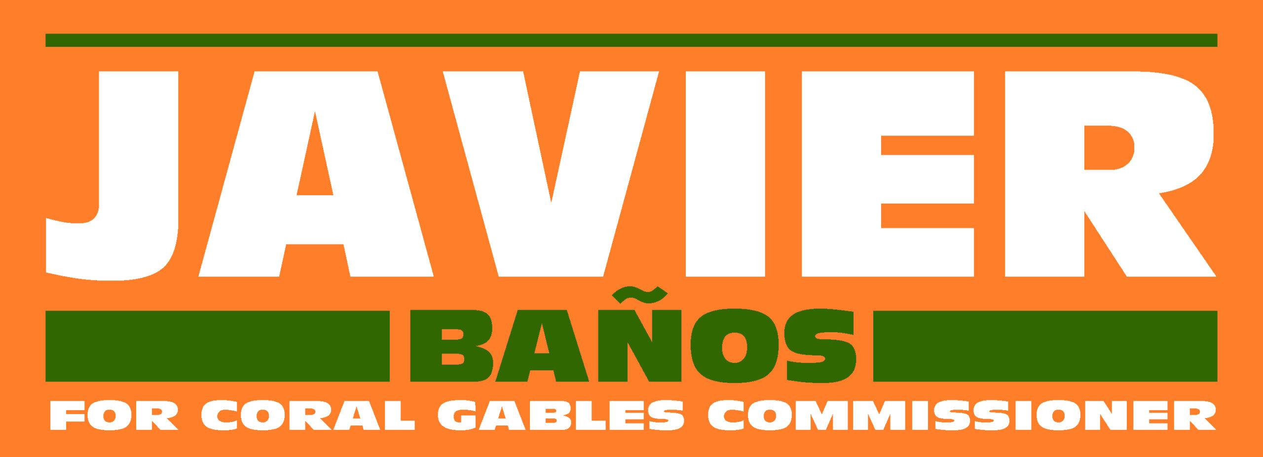 Javier Banos for Coral Gables Commission